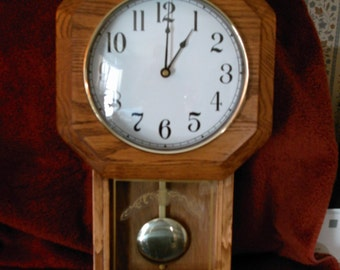 School Type Clock