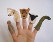 Scottish Highlands Finger Puppets