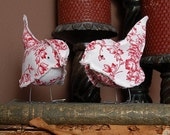 Paper and Fabric Bird Pattern (PDF)