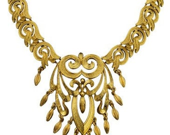 1960S SCROLL NECKLACE