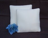 Special Order for S Adams Ringbearer Pillow Ivory matte satin