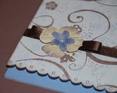 Floral and Swirl All Occasion Card