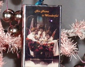 Christmas Ornament - His Name is Wonderful - Postcards from Heaven