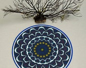 Joe Time Healing Mandala Altra Cloth, Crystal Grid