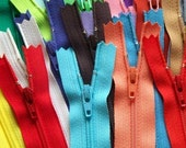 SALE 25 Assorted 6 Inch YKK Zippers