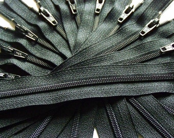 SALE Wholesale Ykk Zippers Fifty  Black 11 Inch Color 580