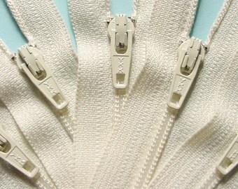 Special Price Wholesale 100 Vanilla 7 Inch Ykk Zippers Color 121