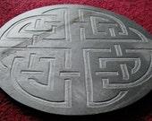 Celtic knot slate tile