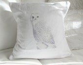 Vintage Owl Pillow Cover