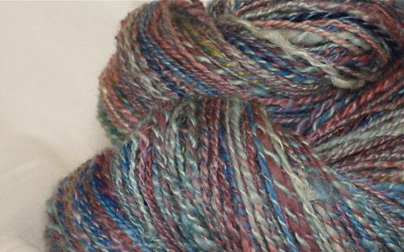 Falkland, alpaca Handspun yarn,Matisse-huge skein