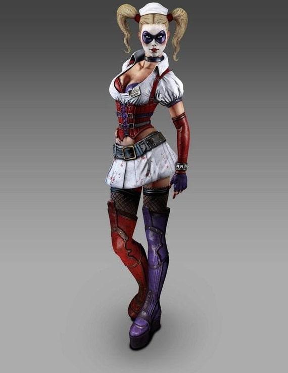 Handmade Harley Quinn costume - reserved for Kim