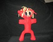Red Fleece Monster