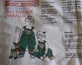 Daisy Kingdom Reindeer Rudi Toddler Overall Panel