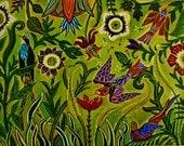 Birds In Paradise Fine Art print Catherine Nolin