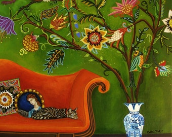 Sleep Study  New Botanical print