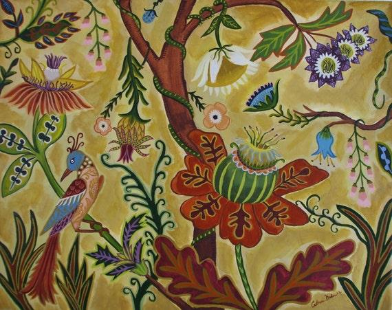 Magical Tree-Original Painting-Framed
