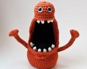 PDF Crochet Pattern - Floyd Fingermonster