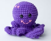 Otto the Octopus - Amigurumi Plush Doll