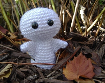 PDF Crochet Pattern - Halloween Ghost Amigurumi