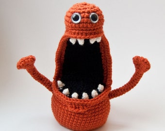 PDF Crochet Pattern - Floyd Fingermonster