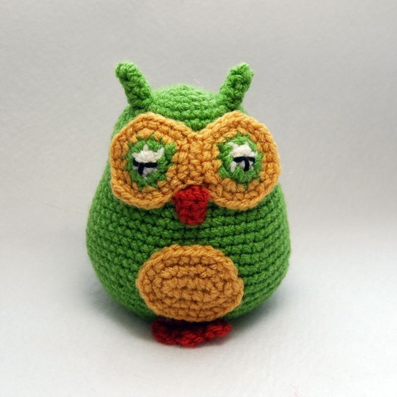 Amigurumi Baby Owl Pattern : Items similar to PDF Crochet Pattern - Amigurumi Baby Owls ...