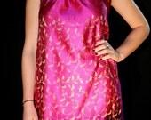 Pink Indian Silk Dress