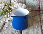 Vintage Enamelware Turkish Pot