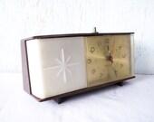 Vintage Alarm Clock Lighted Flashing by Westclox
