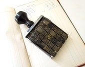 Vintage Numbering Stamp - Jumbo size and adjustable Band Stamp
