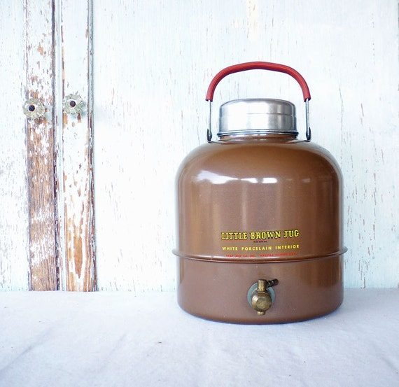 Vintage Thermos Little Brown Jug by the Hemp Co. of Macomb, IL