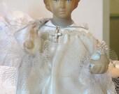 """Vintage Infant of Prague 12"""" Figure with Wardrobe"""