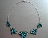 Traditional Diamond Tattoo Necklace