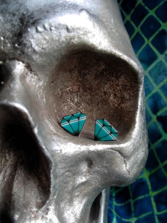CLEARANCE - Diamond Tattoo Earrings