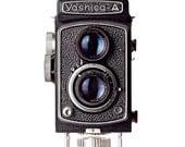 yashica vintage camera photography / photographer, yashica-a, black and white / yashica / 8x10 fine art photo