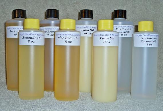 16 oz CASTOR CARRIER OIL  Soap Making Supplies Massage Oil Body Scrubs Lip Balms Lotions