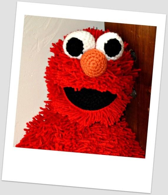 Elmo Doll Crochet Pattern