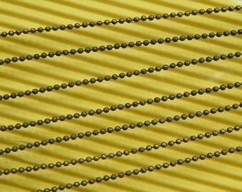 33feet(10m) 2.5mm Bronze Color Ball Chain L01