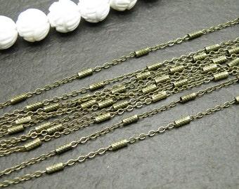 Chain 5m (16 feet) 1.5mm Antique Bronze Chain 25891