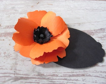 Paper Poppy Place Cards-Set of Ten
