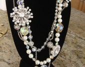 Rhinestone Cowgirl Vintage Statement Necklace CHIC RESERVED FOR 1CLASSYMOMMY