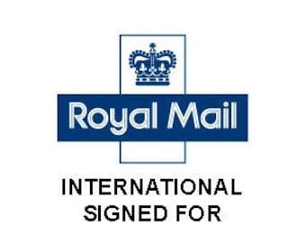 International Signed for - International Postage Upgrade