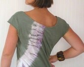 Bohemian Flow Tie Dye Top XL