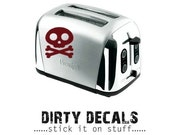 Skull 4X4 vinyl graphic decal Dirty Decals - Stick it on Stuff