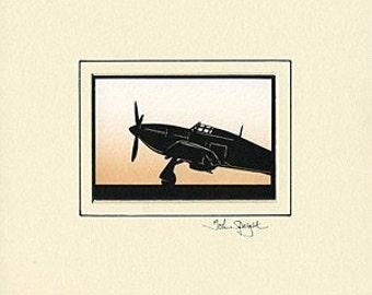 Hurricane Hand-Cut Papercut