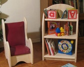 Child's All Wood Book Shelf