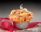 Apple Strudel Muffin Candle Grubby