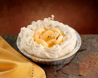 Banana Pie Candle 5 inch