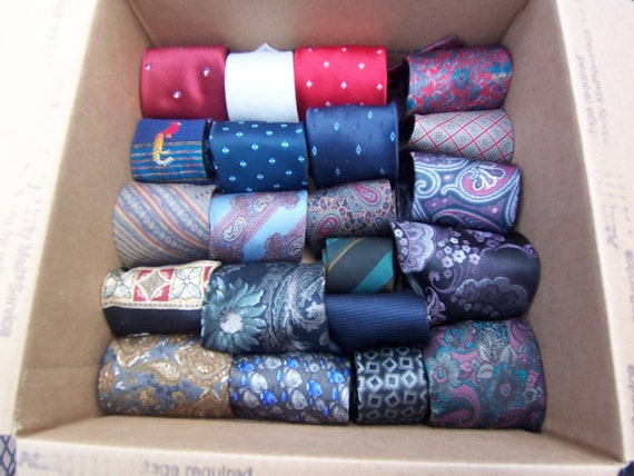 Lot of 21 men's neck ties. Remember all the men in your life this Father Day. Or up cycle into a one of a kind altered art piece.