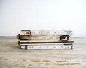 distressed collapsible rulers