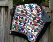 Vintage Row Baby Quilt